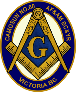 Camosun Lodge No.60 AF&AM BC&YR Masonic Logo Victoria BC