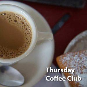 Thursday Coffee Club @ Fisgard Temple