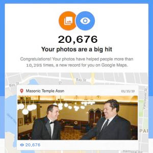 Camosun Lodge hits 20,676 counts on Facebook